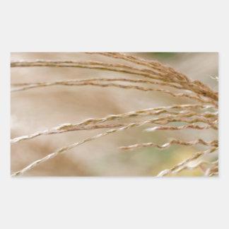Wheat Rectangular Sticker