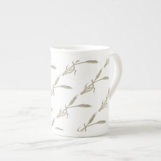 Wheat single grass PERSONALIZE Tea Cup