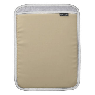 Wheat Solid Color Sleeves For iPads