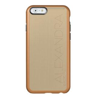 Wheat Solid Colored Incipio Feather Shine iPhone 6 Case