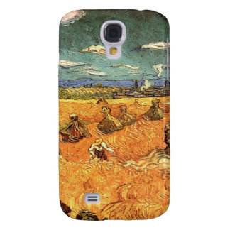 wheat Stacks with Reaper Samsung S4 Case