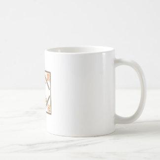 WHEAT STALKS QUILT SQUARE COFFEE MUG