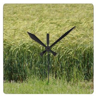 Wheat - Tasty Wallclock