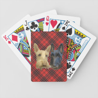 Wheaten & Black Scottish Terriers Deck Of Cards