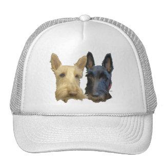 Wheaten & Black Scottish Terriers Trucker Hat