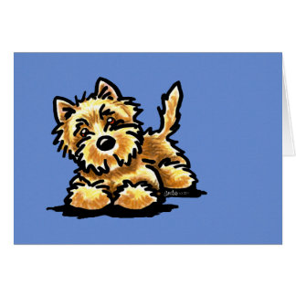 Wheaten Cairn Terrier Greeting Cards