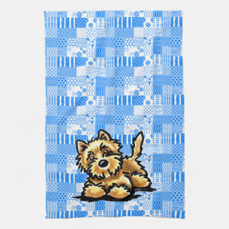 Wheaten Cairn Terrier Kitchen Towel