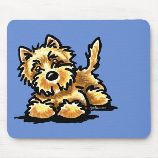 Wheaten Cairn Terrier Mouse Pad