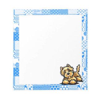 Wheaten Cairn Terrier Notepad