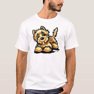 Wheaten Cairn Terrier Off-Leash Art™ T-Shirt