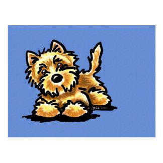 Wheaten Cairn Terrier Postcard