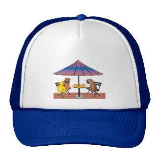 Wheaten Chat Trucker Hat