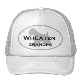 Wheaten Grandpa Trucker Hat