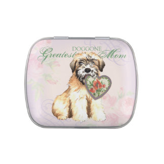 Wheaten Heart Mom Jelly Belly Candy Tins