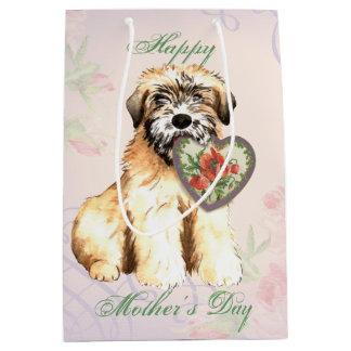 Wheaten Heart Mom Medium Gift Bag