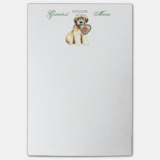 Wheaten Heart Mom Post-it® Notes