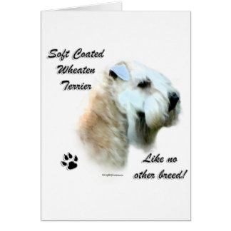 Wheaten Like No Other Breed Card