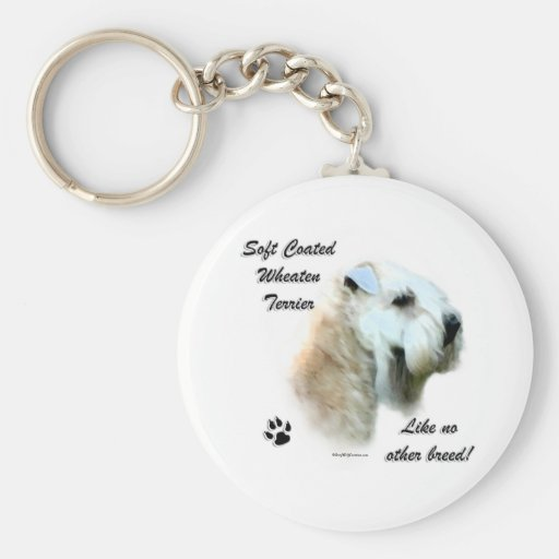 Wheaten Like No Other Breed Keychain