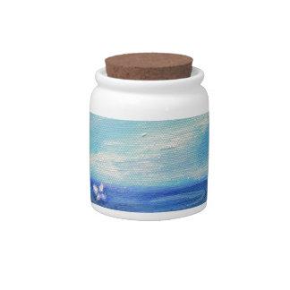 Wheaten Ocean Breeze Candy Dish