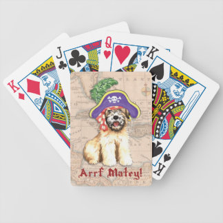 Wheaten Pirate Bicycle Playing Cards