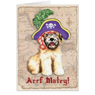 Wheaten Pirate Card