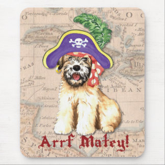 Wheaten Pirate Mouse Pad