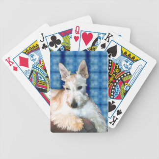 Wheaten Scottie Bicycle Playing Cards
