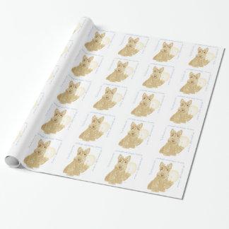 Wheaten Scottie Goodnight Wrapping Paper