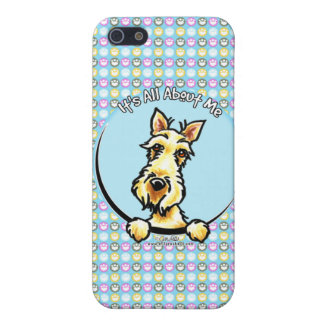 Wheaten Scottie IAAM iPhone SE/5/5s Cover