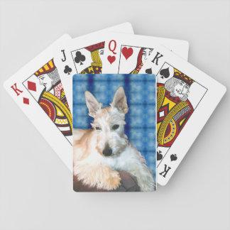Wheaten Scottie Playing Cards
