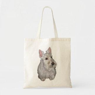 Wheaten Scottie Tote Bags