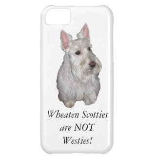 Wheaten Scotties are NOT Westies! iPhone 5C Case