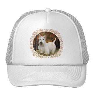 Wheaten Scottish Terrier Autumn Trucker Hat