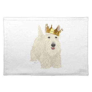 Wheaten Scottish Terrier King Place Mat