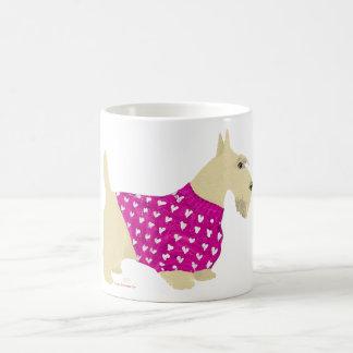 Wheaten Scottish Terrier Sweater Coffee Mug
