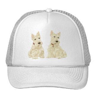 Wheaten Scottish Terriers Trucker Hat