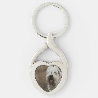 wheaten-terrier 2 keychain
