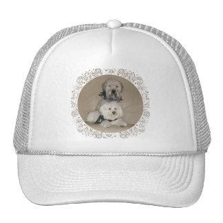 Wheaten Terrier and Havanese Trucker Hat