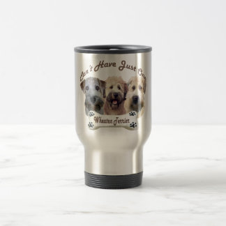 Wheaten Terrier Can't Have Just One Travel Mugs