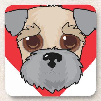 Wheaten Terrier Face Coaster