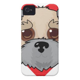 Wheaten Terrier Face iPhone 4 Case-Mate Case