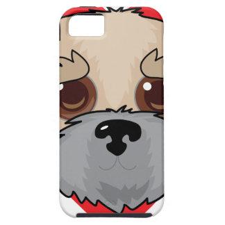 Wheaten Terrier Face iPhone SE/5/5s Case