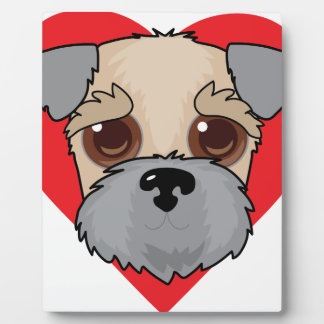 Wheaten Terrier Face Plaque