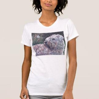 Wheaten Terrier Fine Art T shirt