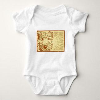 Wheaten Terrier Puppy Sunburst Baby Bodysuit