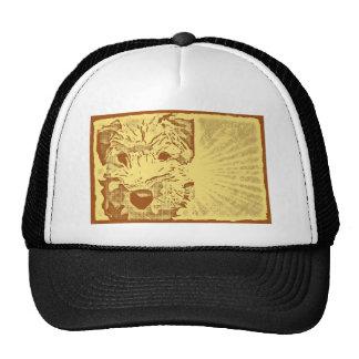 Wheaten Terrier Puppy Sunburst Trucker Hat