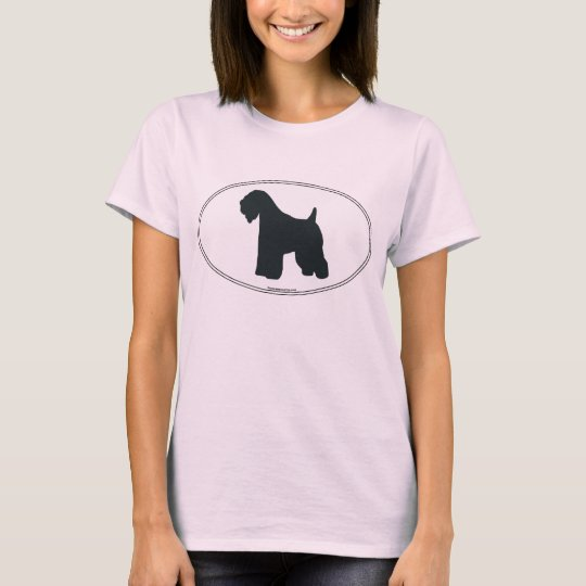 Wheaten Terrier Silhouette T-Shirt