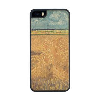 Wheatfield con las gavillas, 1888 de Vincent van Funda De Arce Carved® Para iPhone 5 Slim