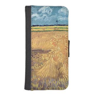 Wheatfield con las gavillas, 1888 de Vincent van Fundas Billetera De iPhone 5