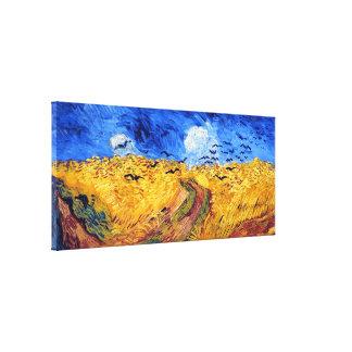 Wheatfield con los cuervos, Vincent van Gogh Impresiones De Lienzo